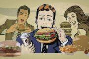 Быстрая уличная еда становится медленной и онлайновой