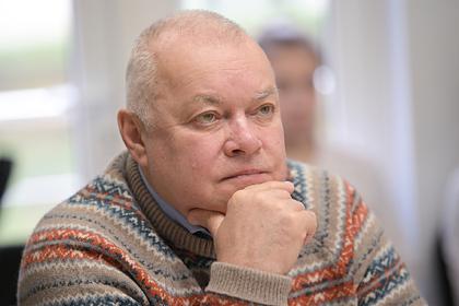 Стало известно о назначенном Дмитрию Киселеву лечении: ТВ и радио: Интернет и СМИ: Lenta.ru